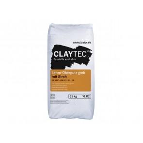 Claytec Lehm-Oberputz mit Stroh 25kg