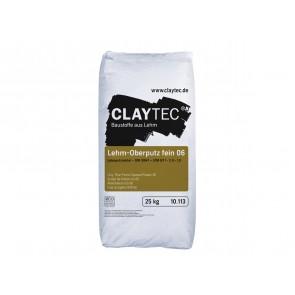 Claytec Lehm-Oberputz fein 06 25kg