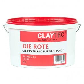 Claytec Die Rote Grundierung (grob) 5l