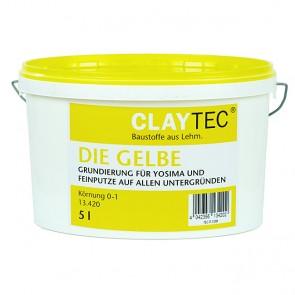 Claytec Die Gelbe Grundierung (fein) 5l