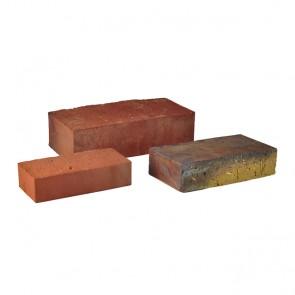 Backstein NF Format rot-braun-bunt, 356 St/Pal