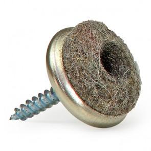 Filzgleiter Ø 20mm zum Schrauben