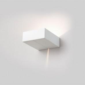 Wandleuchte rechteckig mit Lichtspalt