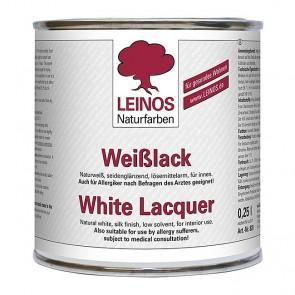Leinos Nr. 820 Weißlack naturweiß, seidenglänzend