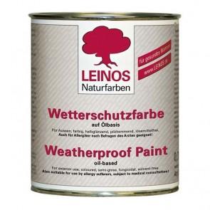 Leinos Nr. 850 Wetterschutzfarbe auf Ölbasis 0,75l