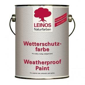 Leinos Nr. 850 Wetterschutzfarbe auf Ölbasis 2,50l