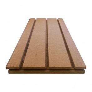 Holzfaser Verlegeplatte für 16mm WEM Rohr