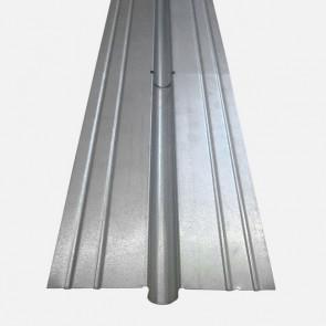 Wärmeleitlamelle Stahl verzinkt für 16mm Rohr