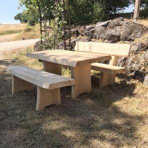 Dauerwald-Bank ohne Lehne Zimmermannsart