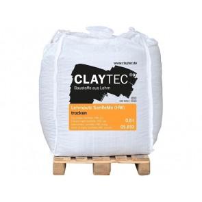 Claytec Lehmputz San Remo 800kg Big-Bag