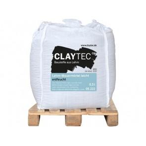 Claytec Leichtlehm Mauermörtel erdfeucht 0,5to