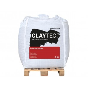 Claytec Lehm-Dämmputz leicht Klein 0,45t BigBag