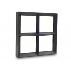 Fenster Metall Einfachverglasung 25 x 25cm