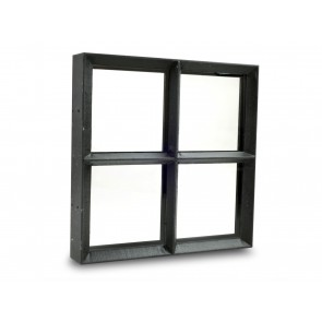 Fenster Metall Doppelverglasung 50 x 60cm