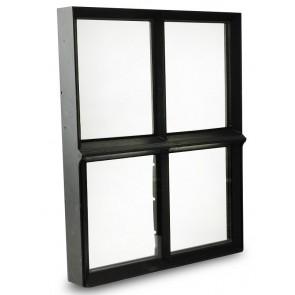 Fenster Metall Doppelverglasung 30 x 40cm
