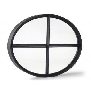 Ochsenauge Metall Doppelverglasung 80 x 62cm