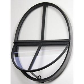 Ochsenauge Metall Doppelverglasung 64 x 50cm