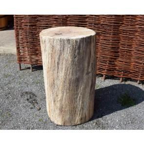 Hauklotz aus Eichenholz Ø ca. 40 cm, Höhe 60-70cm