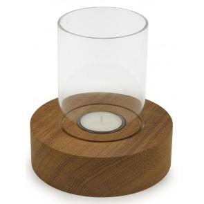Windlicht mit Glas